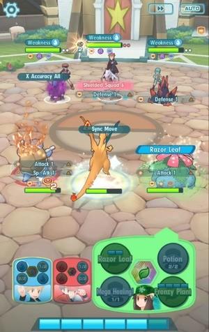 Pokemon Masters Screenshot 3