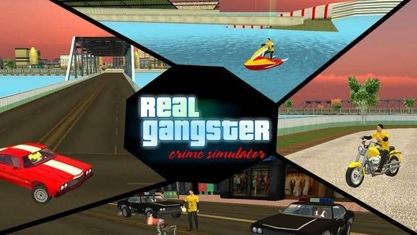 Real Gangster Crime Logo
