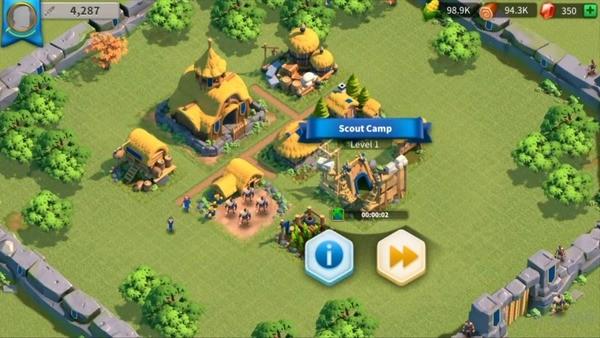 Rise of Kingdoms Lost Crusade Screenshot 1