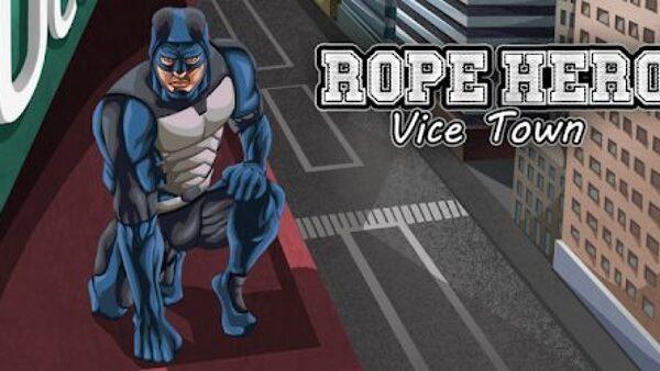 Rope Hero Vice Town Logo