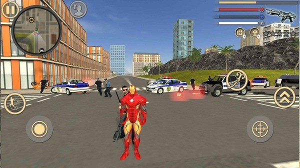 Rope Hero Vice Town Screenshot 1