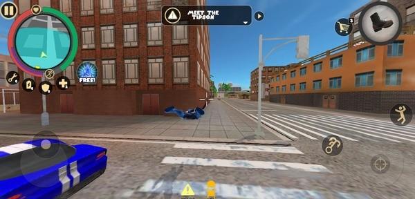 Rope Hero Vice Town Screenshot 2