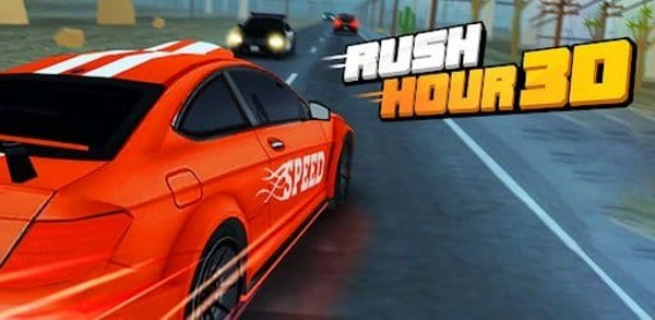 Rush Hour 3D Logo