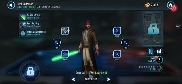 Star Wars Galaxy of Heroes Screenshot 1