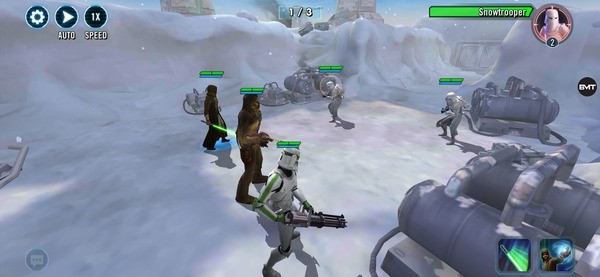 Star Wars Galaxy of Heroes Screenshot 3