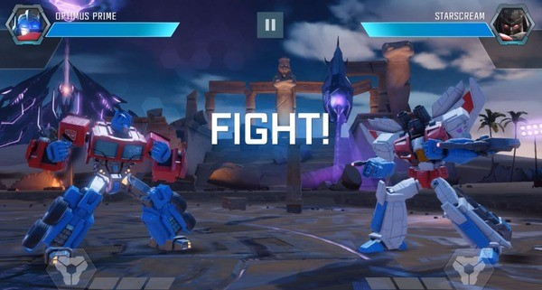 Transformers Forged to Fight Screenshot 1