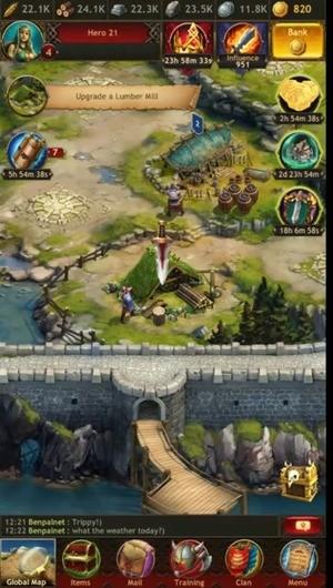 Vikings War of Clans Screenshot 1