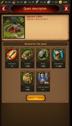Vikings War of Clans Screenshot 3