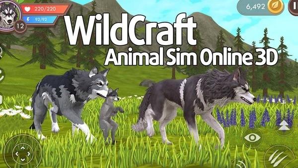 WildCraft Animal Sim Online 3D Logo