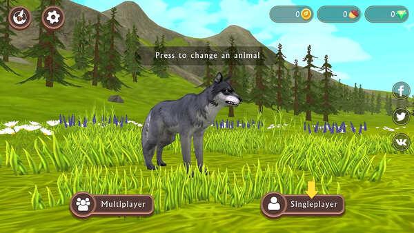 WildCraft Animal Sim Online 3D Screenshot 2