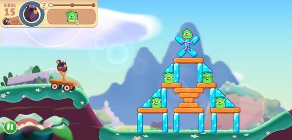 Angry Birds Journey Screenshot 2