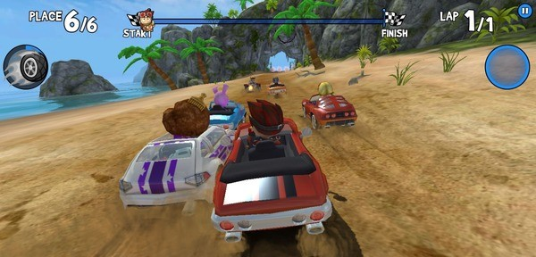 Beach Buggy Racing Screenshot 3