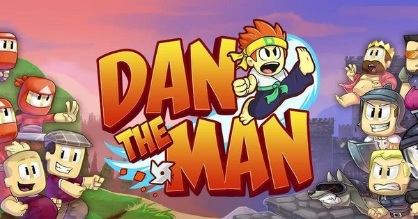 Dan the Man Logo