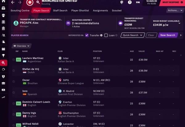Football Manager 2021 Touch Screenshot 1