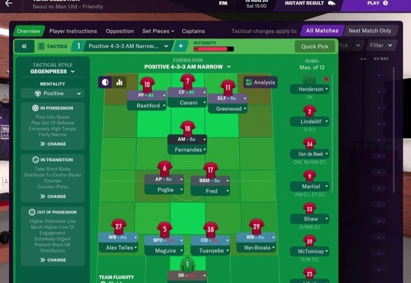 Football Manager 2021 Touch Screenshot 4
