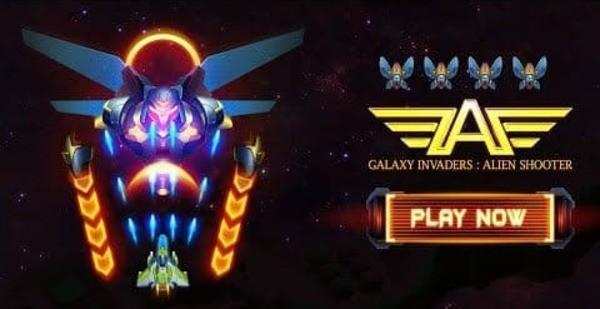 Galaxy Invaders Alien Shooter Logo