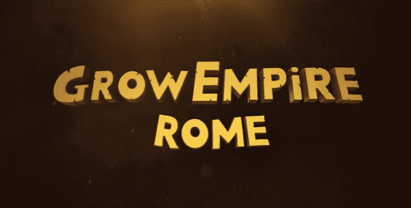 Grow Empire Rome Logo