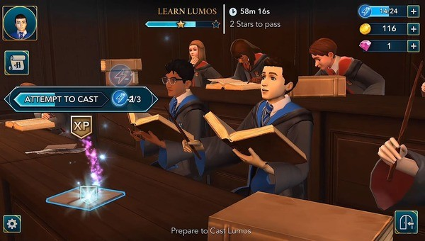 Harry Potter Hogwarts Mystery Screenshot 2