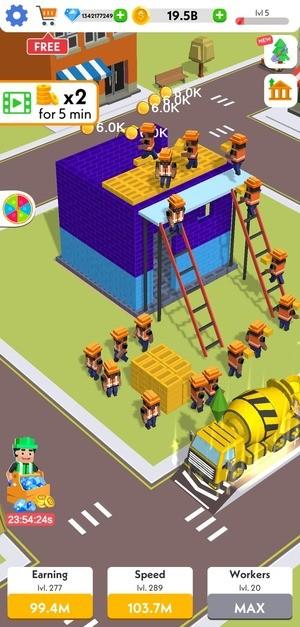 Idle Construction 3D Screenshot 3