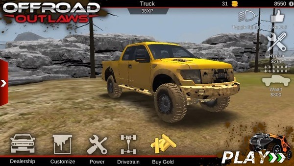 Offroad Outlaws Screenshot 2