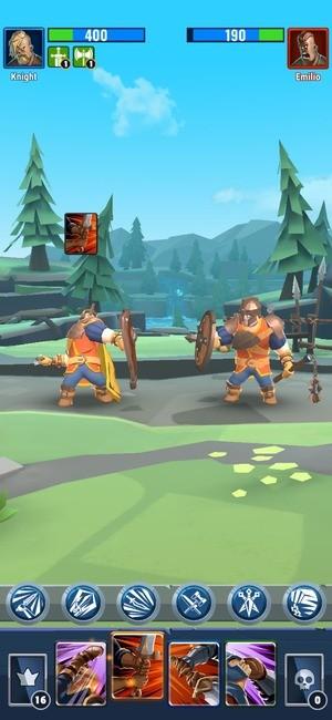 Royal Knight RNG Battle Screenshot 1