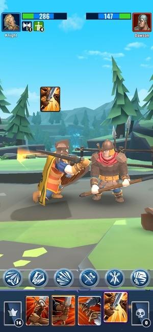 Royal Knight RNG Battle Screenshot 2