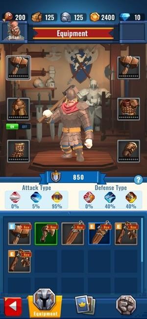 Royal Knight RNG Battle Screenshot 3