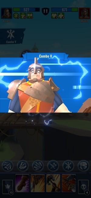 Royal Knight RNG Battle Screenshot 4