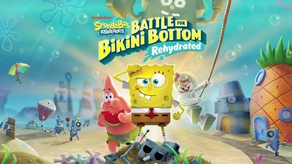 SpongeBob SquarePants Battle for Bikini Bottom Logo