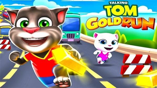 Talking Tom Gold Run Logo