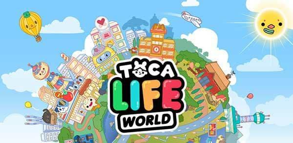 Toca Life World Logo