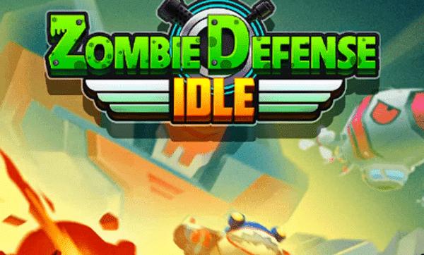 Zombie Defense Idle Game Logo