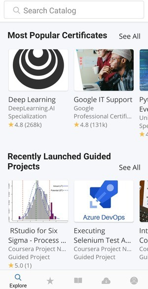 Coursera Online Courses Screenshot 2