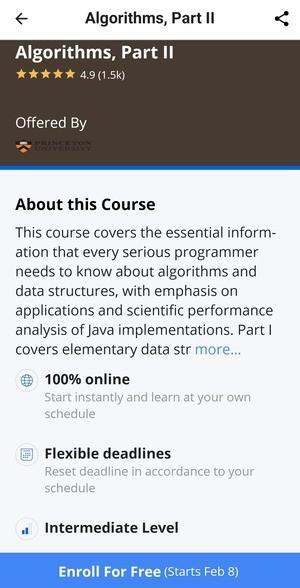 Coursera Online Courses Screenshot 3