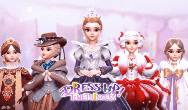 Dress Up! Time Princess Mod Logo
