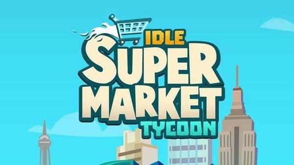 Idle Supermarket Tycoon Logo