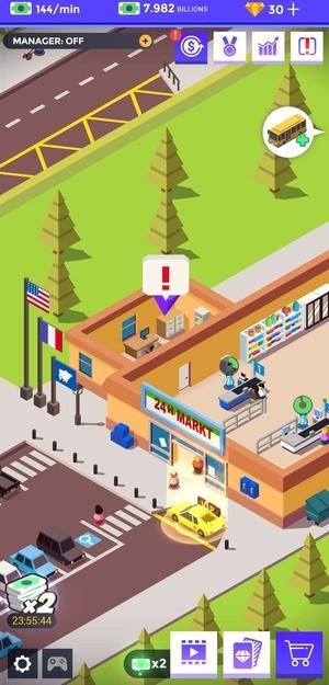 Idle Supermarket Tycoon Mod Screenshot 2