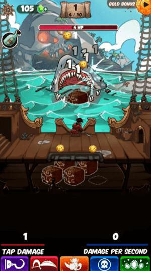 Idle Tap Pirates Screenshot 1