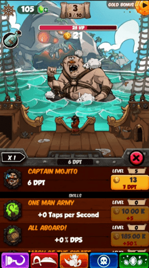 Idle Tap Pirates Screenshot 3
