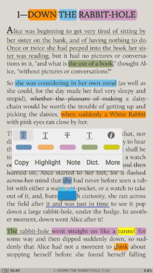 Moon+ Reader Pro Screenshot 1