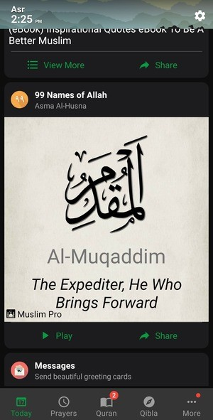 Muslim Pro Screenshot 3