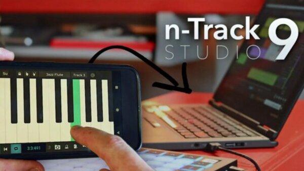 N-Track Studio 9 Pro Logo