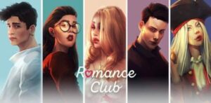 Romance Club Stories Logo