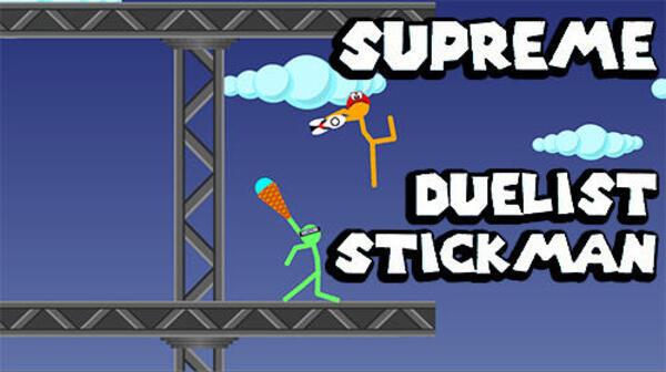 Supreme Duelist Stickman Logo