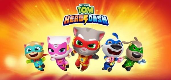 Talking Tom Hero Dash Logo