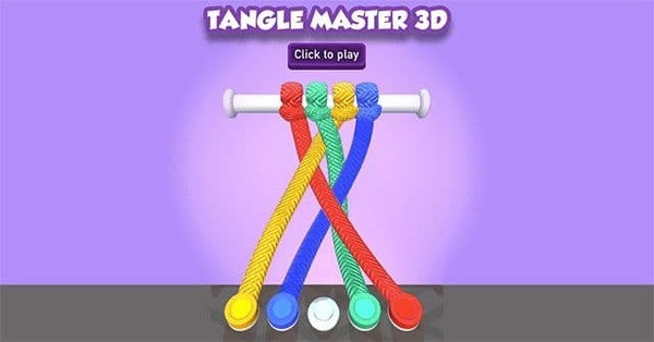 Tangle Master 3D Logo