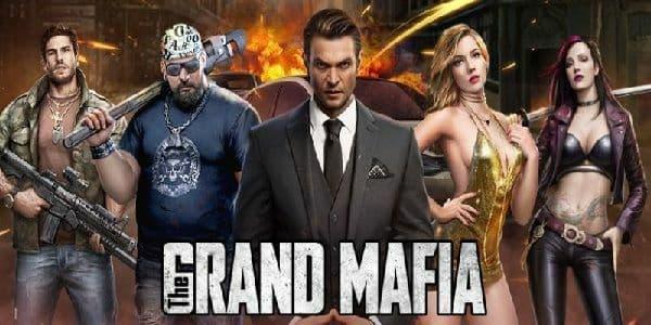 The Grand Mafia Logo