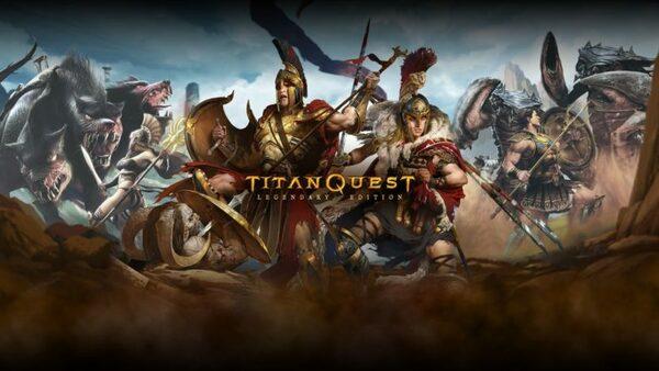 Titan Quest Legendary Edition Logo