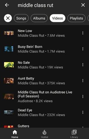 YouTube Music Screenshot 2