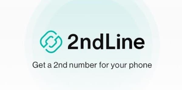 2nd Line Second Phone Number Logo